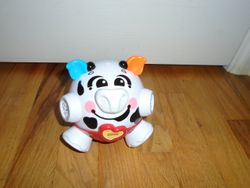 Fisher Price Bounce & Giggle Cow - $10