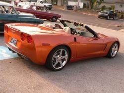 2007 Atomic Orange Corvette
