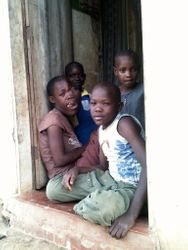 In the village near Bombo