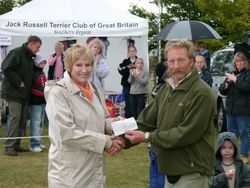 Jack Russell Terrier Club of Great Britain (Southern Region)      Donation of £500 to the Motor Neurone Society.