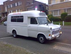 1970s Front Line Ambulance
