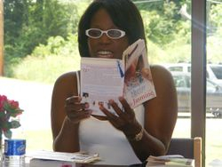 Author Victoria Christopher Murray Reading an excert from Lady Jasmine