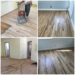 Restoring this old oak hardwood floor