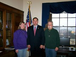 Jim and Pat Preisendorfer with Rep. Frank Guinta