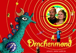 Postkarte Drachenmond