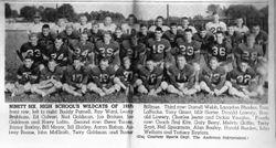1958 96 HS Football Team