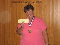 Sue Stevens- Bronze Flight, Low Gross 2010
