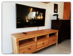 LG--47 inches Flat screen TV installation.