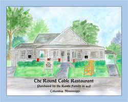 The Round Table Restaurant, Columbia, MS