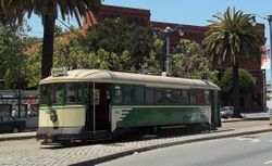 San Francisco #162, in 1950's livery.