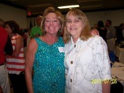 Jacque Farrell Tate and Nancy Lorenger Andersen