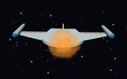 Romulan Warship  AMT 1