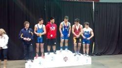 Evan Takach - 5th place at Juvenile Provincials 2015