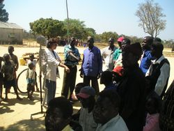 Health Teaching in Zambia - Body Mechanics
