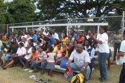 FFP Jamaica staff fill the stands