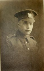 Pte. 1725 WILFRED P. COLCLOUGH. 9th Bn.