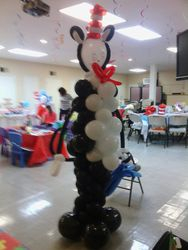 Cat in the Hat Balloon Structure