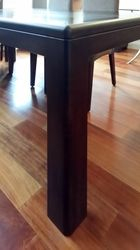 Dining Table - leg detail