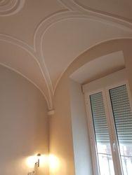 Detalle de la bóveda del dormitorio principal