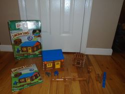 Lincoln Logs Oak Creek Lodge- 137 Pieces COMPLETE - $35