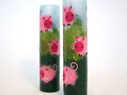 Piggies Bud Vases
