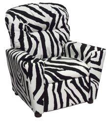 #401C Child Recliner  - Zebra
