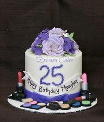 MAC makeup kit cake