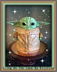 Baby Yoda Cake!