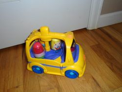 Playskool Weebles on the Bus - $20