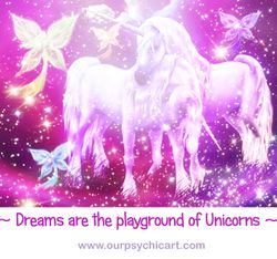 Dreams are the playground of unicorns