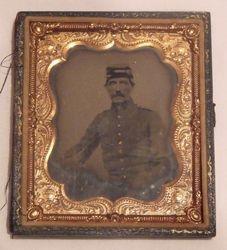 Daguerrotype of a Soldier