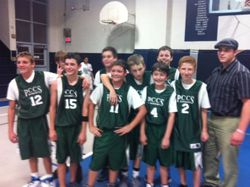 Junior High Boys Basketball wins!