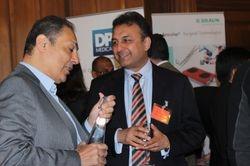 Hesham Saleh and Prof Anshul Sama