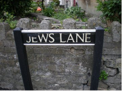 Why is this street called Jews Lane?