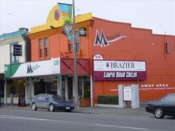 Mainstream Cafe in 2005