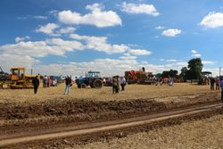 tractor pulling area