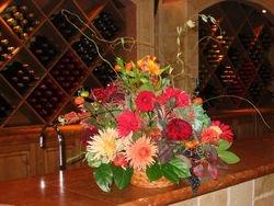Large basket arrangement