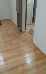 Stained and sealed floor