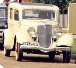 1934 Sedan
