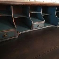 Inside steampunk octopus bureau