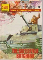 Sabre Library War Comic