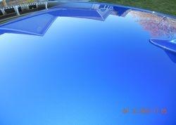 100% swirl free roof