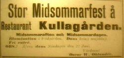 Hotell Kullagarden 1909