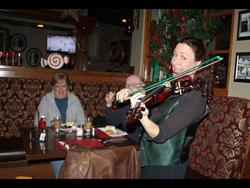 At an Irish Pub