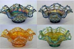 Open Edge Basket, ruffled shape