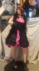 Pink Saloon Girl