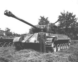 The M-26 in Pershing in Germany.