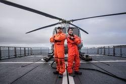 Los pilotos de helicoptero