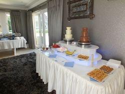 Footballer Yaya toure Celebrity House Party Chocolate Fountain Hire.