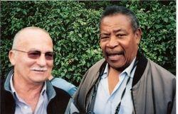 Bob Kirkwood and Prince Kumali
